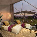 プレミアムなキャンプ体験を堪能!「妙義グリーンホテル&テラス」全10室のグランピング施設が誕生!