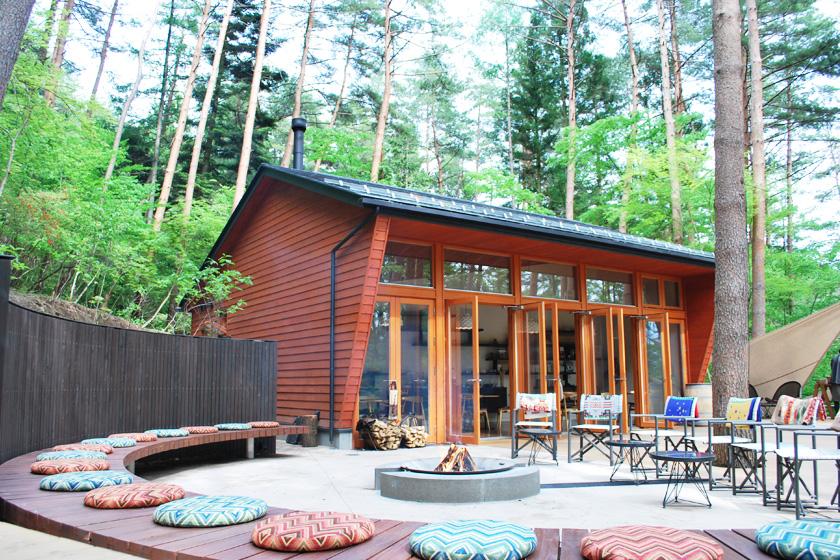 This is the first glamping resort in Japan.HOSHINOYA Fuji.
