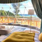 沖縄の離島で1日1組限定グランピング『THE FORCE ~Iejima Beach Glamping~』11月1日オープン!宿泊予約販売サービス開始!